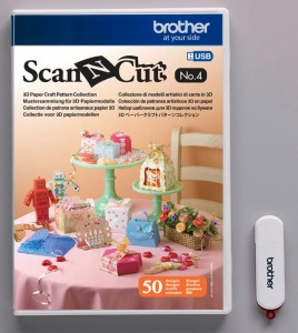Wzory 3D paper craft do ScanNCut