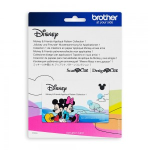 Wzory Disney Mickey & Friends Applique
